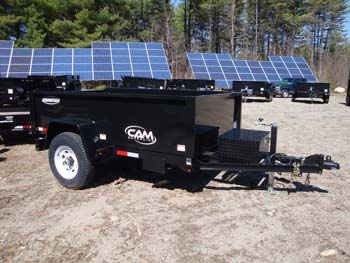 Cam Advantage 5-508LPDT 5x8 Dump Trailer